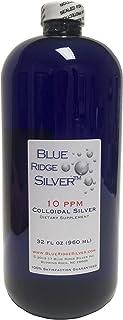 Blue Ridge Silver 10 ppm 32 oz Colloidal Silver Natural Immune Support Health Supplement