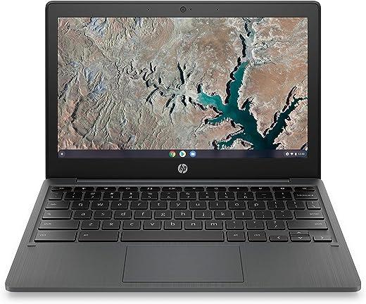 HP Chromebook 11-inch Laptop - MediaTek - MT8183 - 4 GB RAM - 32 GB eMMC Storage - 11.6-inch HD Display - with Chrome OS - (11a-na0010nr, 2020 Model)