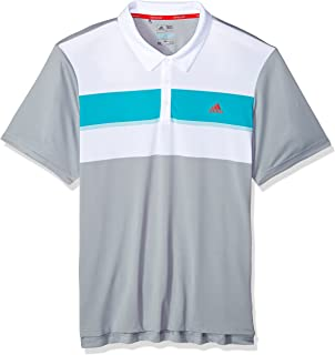 adidas Golf Men's Climacool Engineered Block Polo