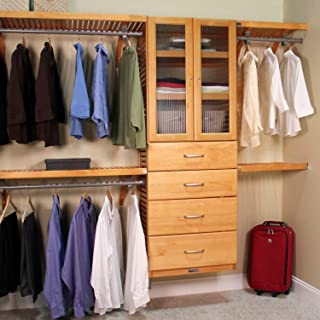Honey Maple Deluxe Organizer - 12' X 15' Brown Wood Wall Mounted