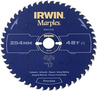 IRWIN IRW1897459 254 x 30mm 48-Teeth Irwin Marples Circular Saw Blade with ATB Tooth Grind/Negative Hook