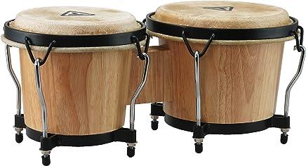 Tycoon Percussion 6 Inch & 7 Inch Ritmo Bongos - Natural Finish