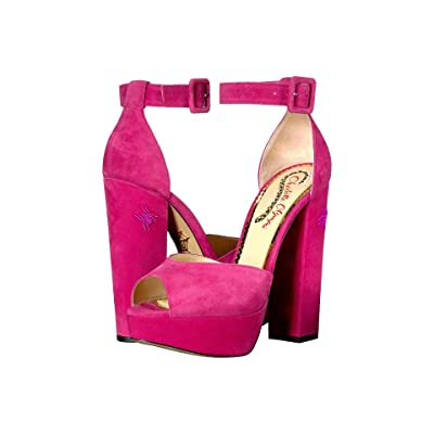 Charlotte Olympia Eugenie (Pretty Pink Suede) High Heels