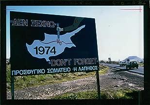 Vintage photo of Cyprus gen views:nicosia cypins