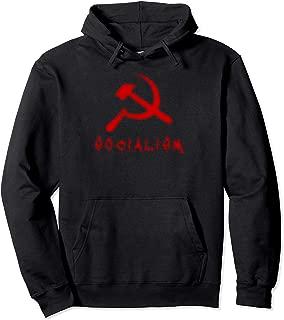 Funny Political Halloween Anti-Socialism Communist Horror Pullover Hoodie