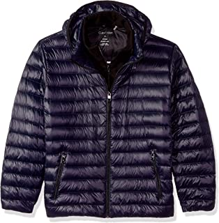 Men's Packable Down Hooded Coat