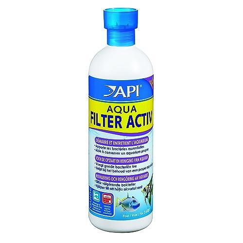 Api Traitement de l'Eau pour Aquariophilie Aqua Filtre Activ 473 Ml