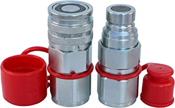 high flow hydraulic quick couplers