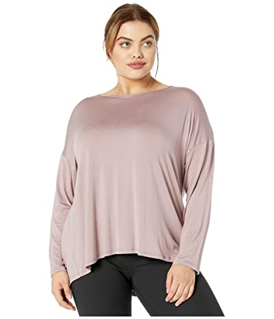 Beyond Yoga Plus Size Draw The Line Pullover (Dusty Mauve) Women