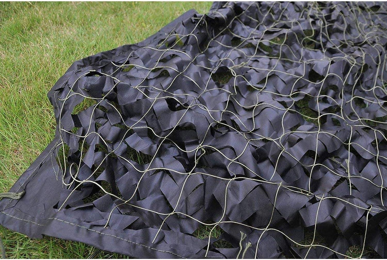 RENJIANFENG Tarnnetz Schwarz Oxford Polyester Verst/ärktes Tarnnetz F/ür Sunshade Camping Car Covers Markisendekoration,10x10m