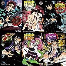 Demon Slayer Manga Collection Vol (10-15) 6 Books Collection by Koyoharu Gotouge