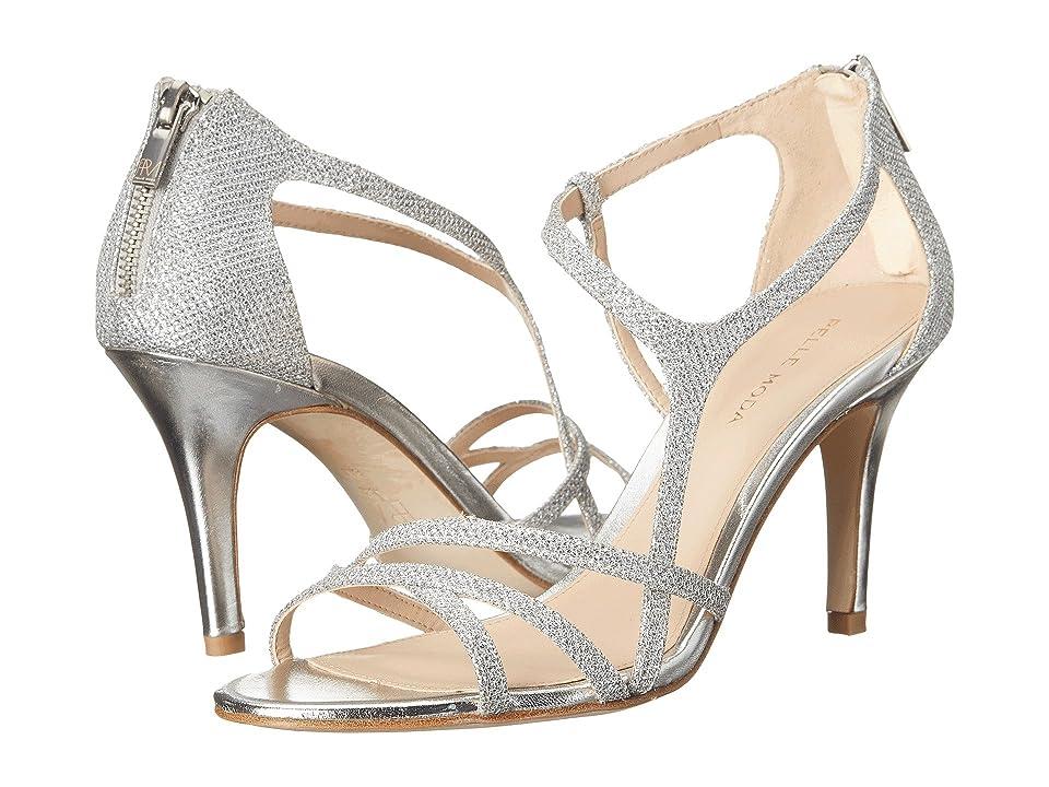 Pelle Moda Ruby (Silver Metallic Textile) High Heels