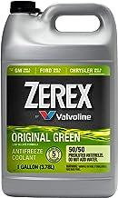 Zerex ZXRU1 Original Green 50/50 Prediluted Ready-to-Use Antifreeze/Coolant 1 GA