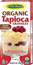 Let's Do...Organic Organic Tapioca Granules, 6-Ounce Boxes (Pack of 3)