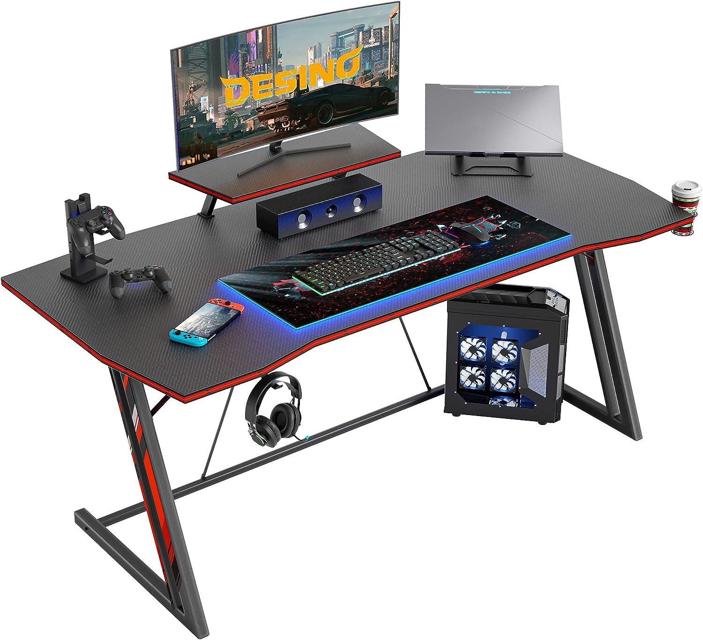 Max 87% OFF Finally resale start DESINO Gaming Desk 40 inch Computer Office Ga PC Home