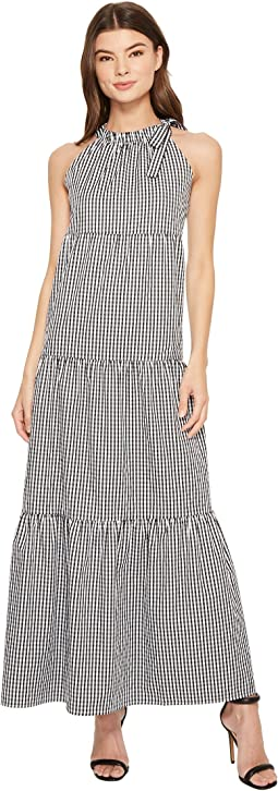Maggy London - Tied Maxi Halter Dress