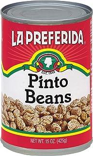 La Preferida (Pinto Beans 15 OZ, Pack 3)