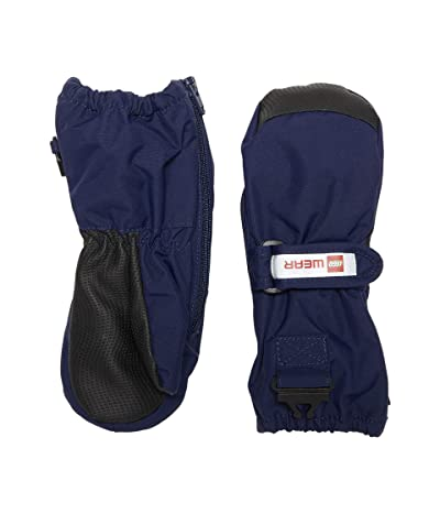 LEGO Kids Snow Mittens with Thinsulate Insulation (Infant/Toddler/Little Kids) (Dark Navy) Over-Mits Gloves