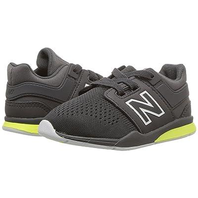 New Balance Kids KA247v2I (Infant/Toddler) (Magnet/Solar Yellow) Boys Shoes