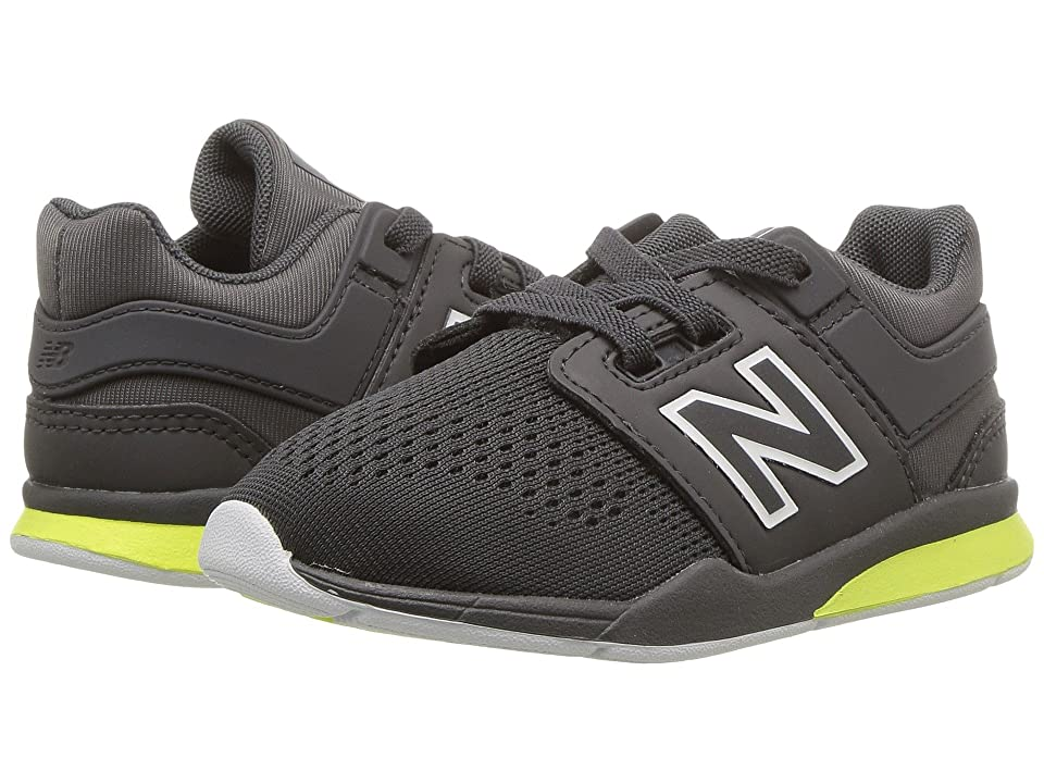 New Balance Kids KA247v2I (Infant/Toddler) (Magnet/Solar Yellow) Boys Shoes
