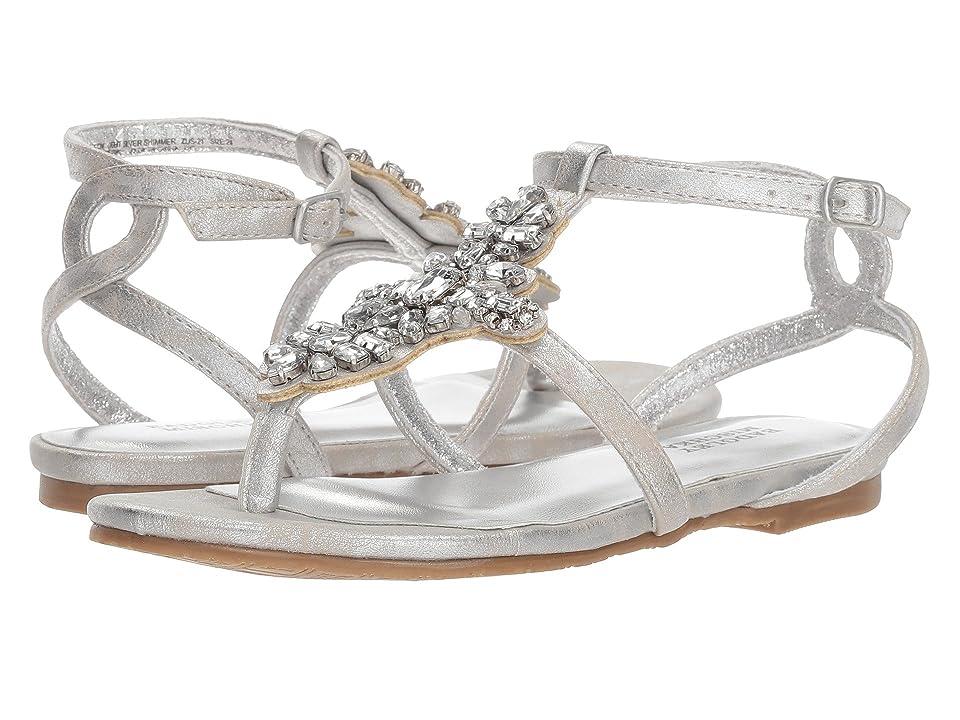Badgley Mischka Kids Cara Barstow (Little Kid/Big Kid) (Light Silver) Girls Shoes