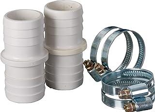 Gre AR509 - Kit de Conexion de Mangueras: 2 Manguitos y 4 Abrazaderas de 38 mm de Diametro