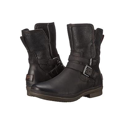 UGG Simmens (Black Leather) Women