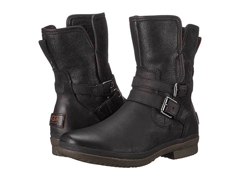 UGG Simmens (Black Leather) Women