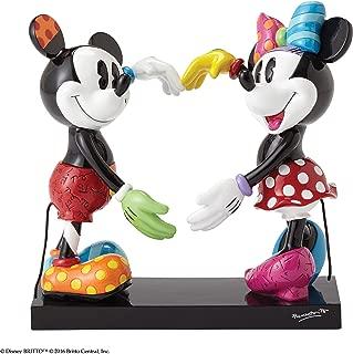 Disney by Britto Mickey and Minnie Stone Resin Figurine