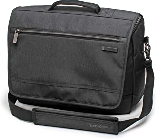 Samsonite Modern Utility Laptop Messenger Bag, Charcoal Heather, One Size