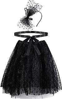 black lace tutu