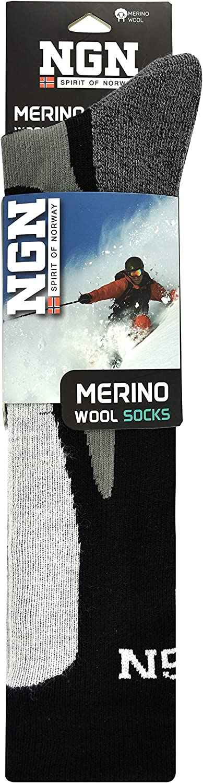Thermosocken Warme Str/ümpfe Ski Socken Winter Warm Thermo Socks Wandersocken Snowboard Socken Wintersocken Funktionssocken Merino Wolle Schwarz NGN Skisocken Merinowolle Herren /& Damen