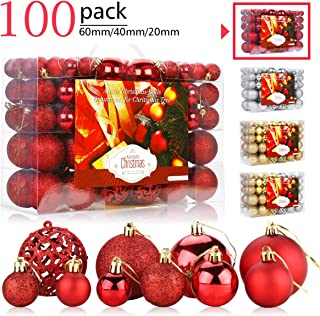 Best red christmas ornament sets Reviews