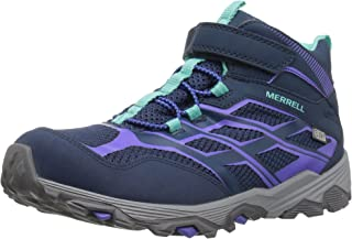 Merrell Moab Fst Mid A/C Waterproof Sneaker (Little Kid/Big Kid)