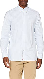 Tommy Hilfiger Flex Refined Oxford Stripe Shirt Camisa para Hombre