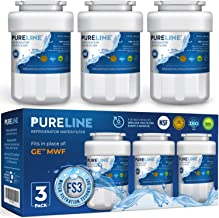 Pureline MWF Water Filter Replacement. Compatible with GE MWF, MWFP, MWFAP, MWFA, MWFINT,..