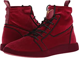 Singles Velvet High Top Sneaker