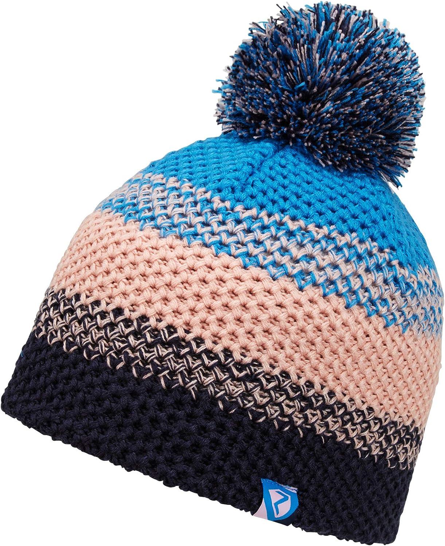 Ziener Unisex Kids ISHI Junior Warm Knitted Bobble Hat