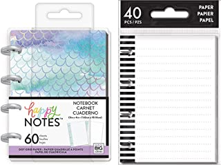 me & My Big Ideas Micro Happy Notes Bundle: Mermaid with Tiny Note Paper (Pocket Size PMBM-17-FILT-01)