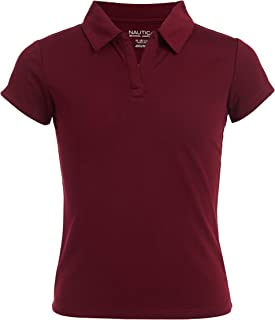 Girls' School Uniform Short Sleeve Performance Polo