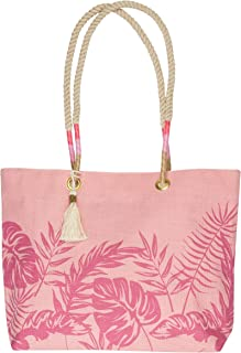Karma Gifts Beach Tote, Pink