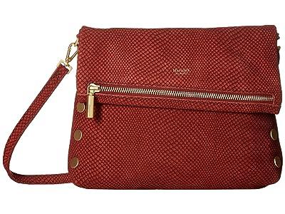Hammitt VIP Medium (Henna Snake/Brushed Gold) Cross Body Handbags
