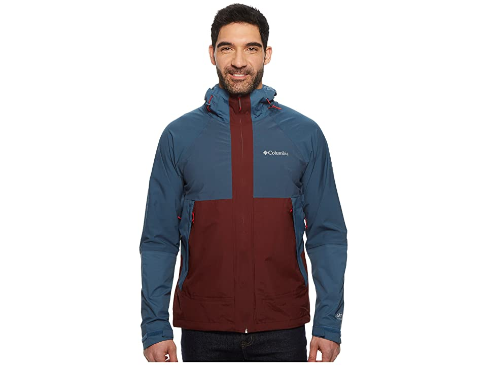 Columbia Evolution Valley Jacket (Elderberry/Whale/Red Spark) Men