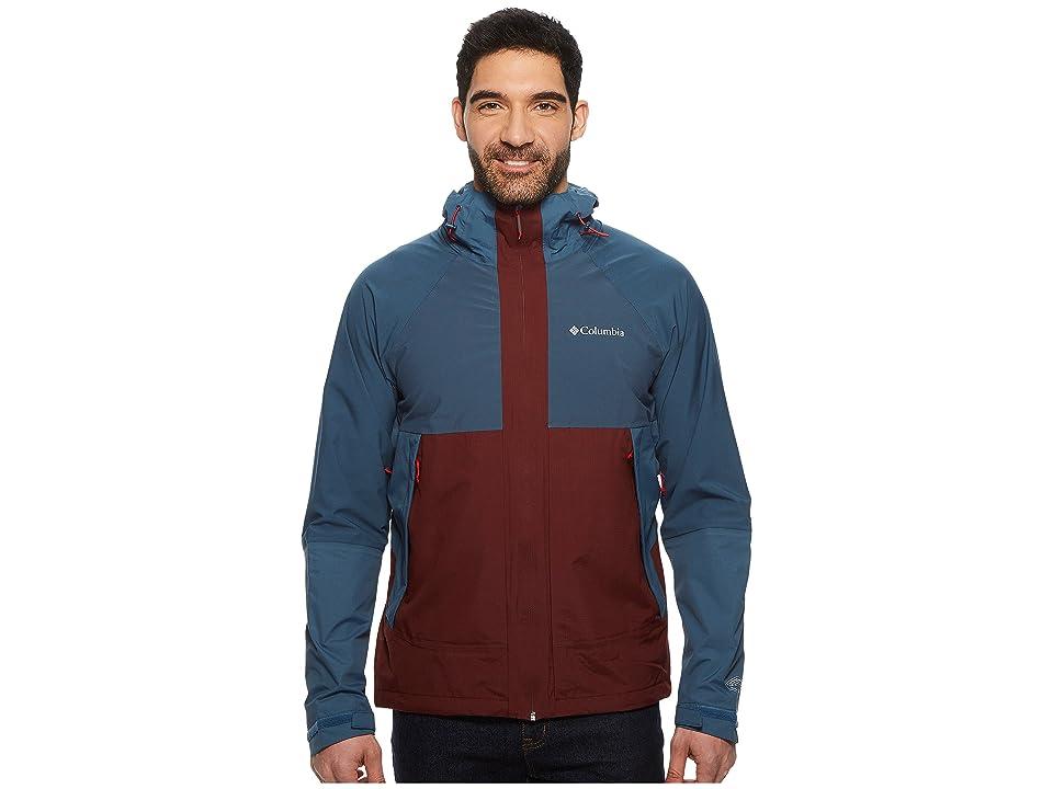 Columbia Evolution Valley Jacket (Elderberry/Whale/Red Spark) Men