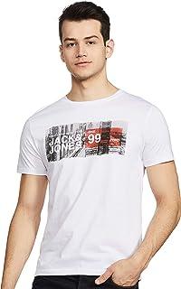 Jack & Jones Men's Printed Slim fit T-Shirt