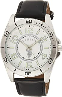 U.S. Polo Assn. USC50008 Men's Quartz Watch, Analog Display and Stainless Steel Strap