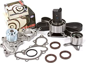 Evergreen TBK154WPT Fits 88-92 Toyota 4Runner Pickup 3.0 SOHC 3VZE Timing Belt Kit Water Pump (with outlet pipe)
