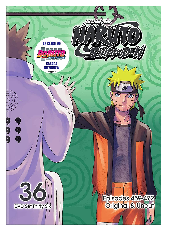 Naruto Shippuden Sacramento Mall Uncut Set Elegant 36 DVD