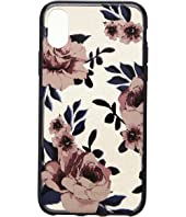 Kate Spade New York - Glitter Prairie Rose Phone Case for iPhone X
