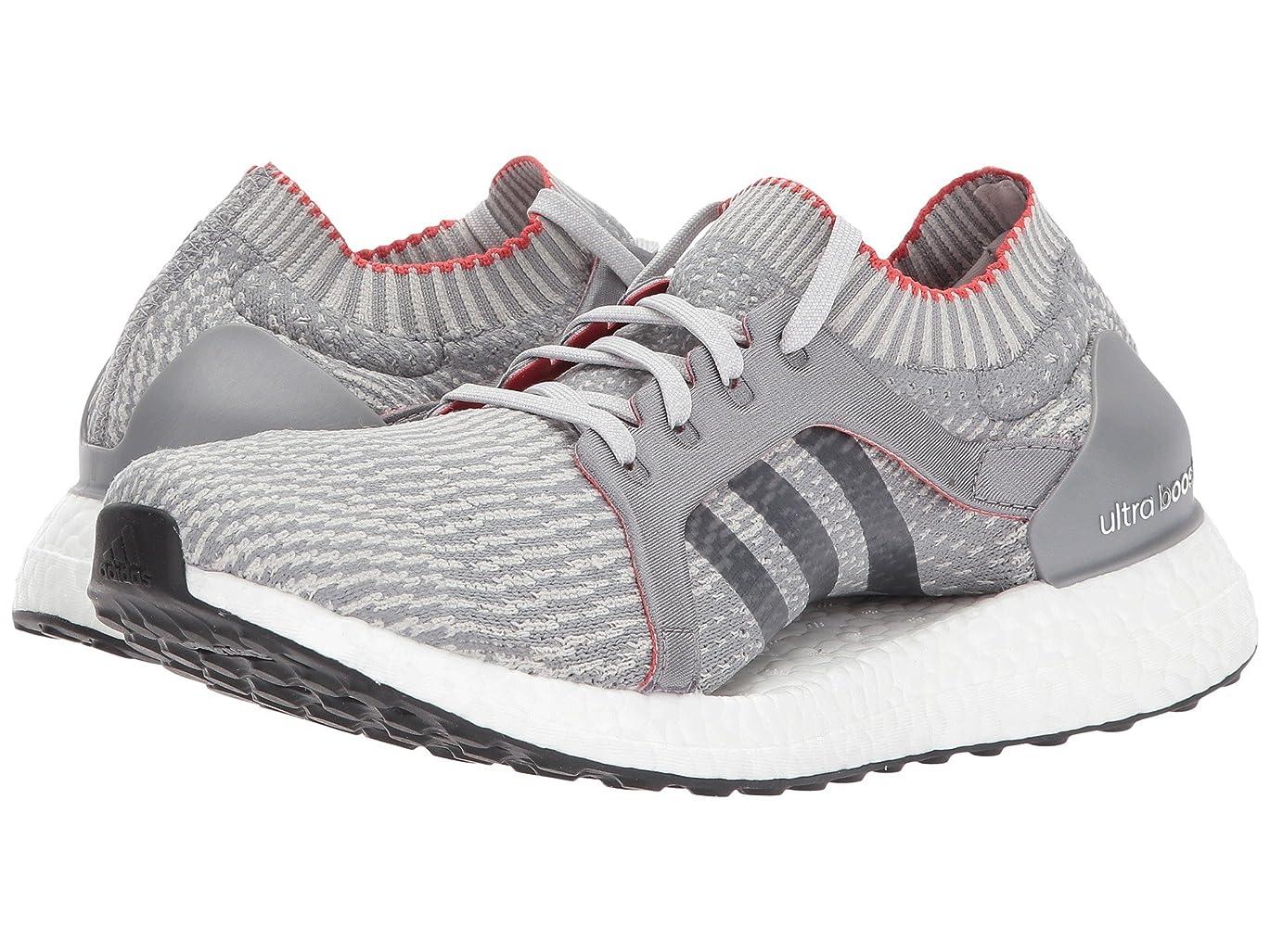ぼろ表示食堂(アディダス) adidas レディースランニングシューズ?スニーカー?靴 UltraBOOST X Grey 10 (27cm) B - Medium